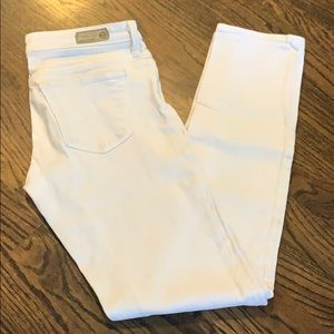AG white skinny jeans - The Stilt